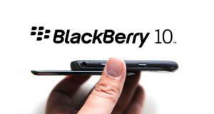 BlackBerry 10 Slider