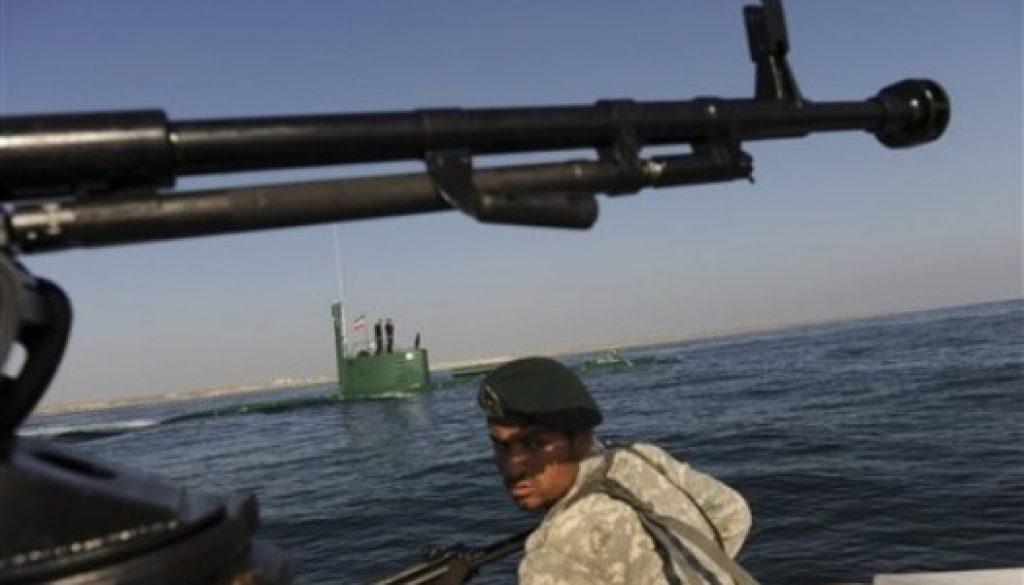 Naval de Irán para sostenerse orientada militar en el estrecho de Hormuz