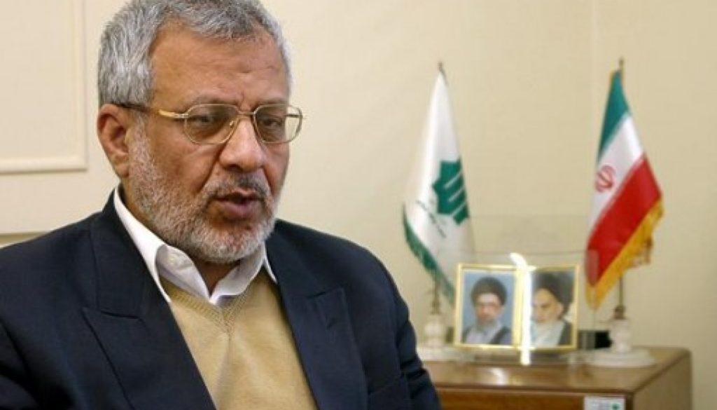 Asadollah Badamchian rinde homenaje al ayatolá Akbar Hashemi Rafsanjani
