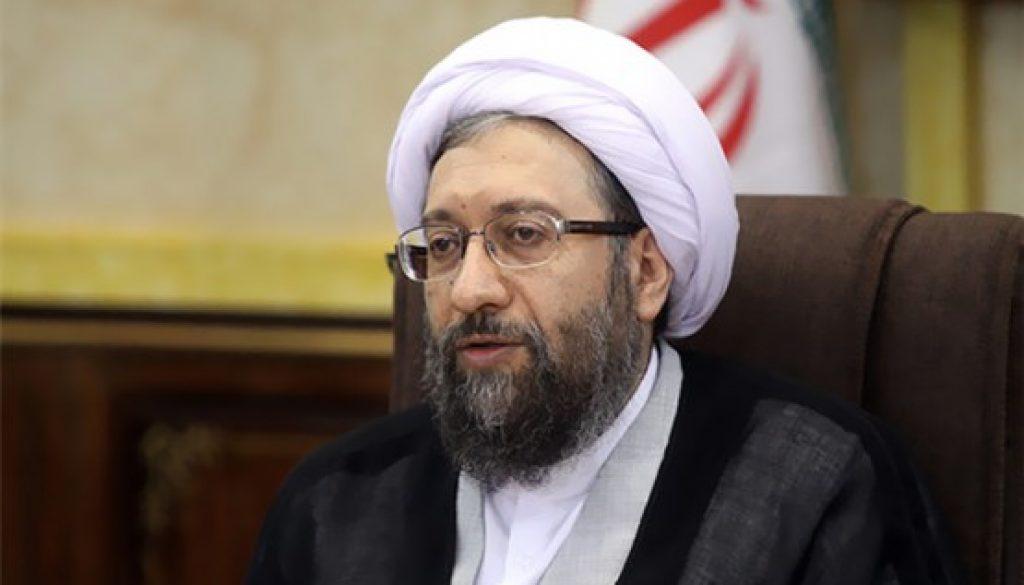 Sadeq Larijani elogió el papel ejemplar de Ali Jamenei, para suprimir las protestas en Irán