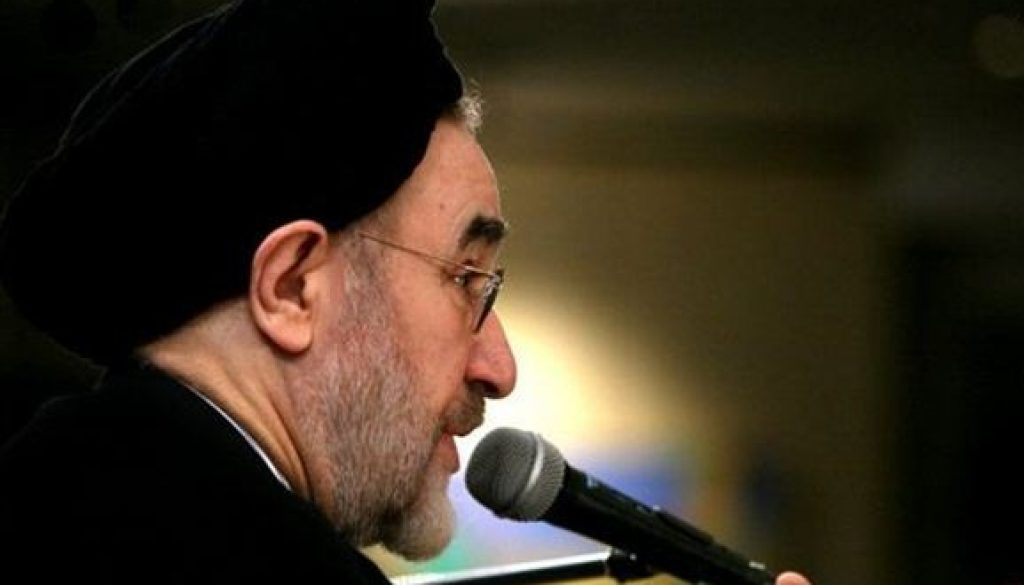 Mohammad Khatami está preocupado por la próxima Elección presidencial de Irán