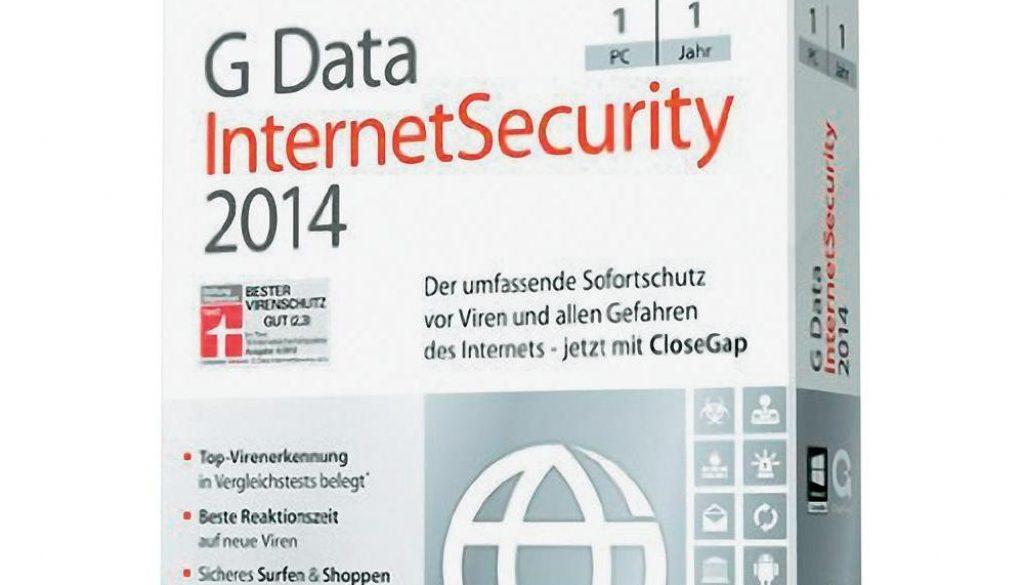 G Data TotalSecurity 2014