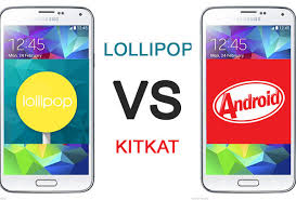 Android Lollipop 5.0 vs Kitkat