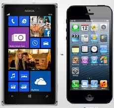 Iphone 5c vs Nokia Lumia 930