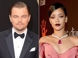 Leonardo Dicaprio y Rihanna