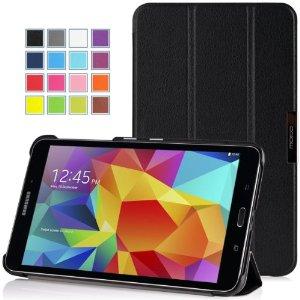 El Samsung Galaxy Tab4 8.0 es un tablet Android KitKat con una pantalla WXGA de 8 pulgadas, cámara trasera de 3 megapixels y frontal de 1.3 megapixels, procesador quad-core, 1.5GB de RAM, y versiones sólo Wi-Fi, 3G HSPA y 4G LTE.