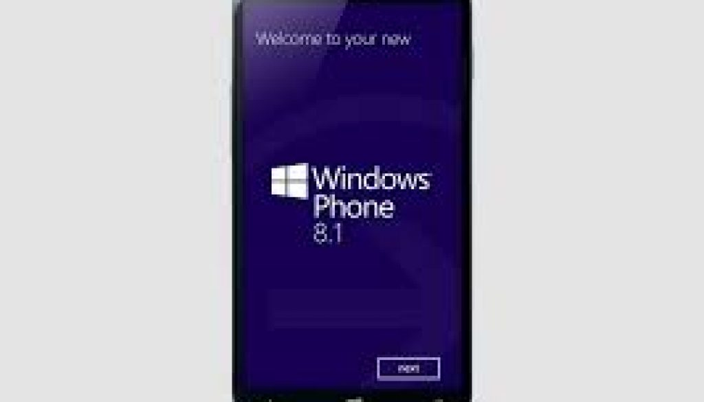 Windows Mobile 8.1