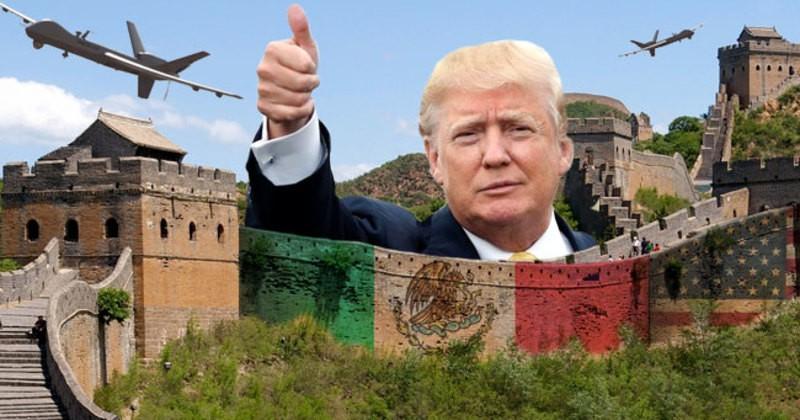Trump No Está Retrocediendo sobre la Construcción del Muro que Prometió su Campaña