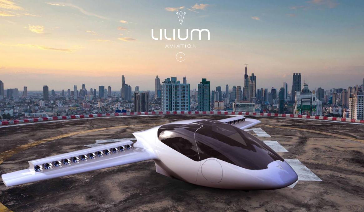 Lilium Recibe Financiamiento para Construir un Taxi Volador Eléctrico