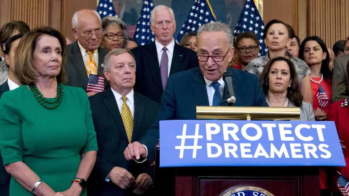 Líderes Democráticos Están de Acuerdo con el Plan DACA