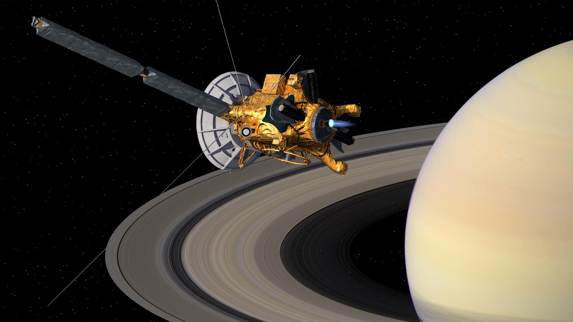 Cassini, La Misión de Saturno de la Nasa de 13 Años Ha Terminado