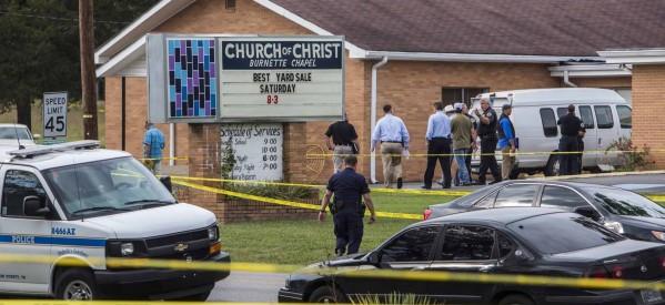 Sospechoso de Tiroteo en Iglesia de Tennessee Acusado por Homicidio