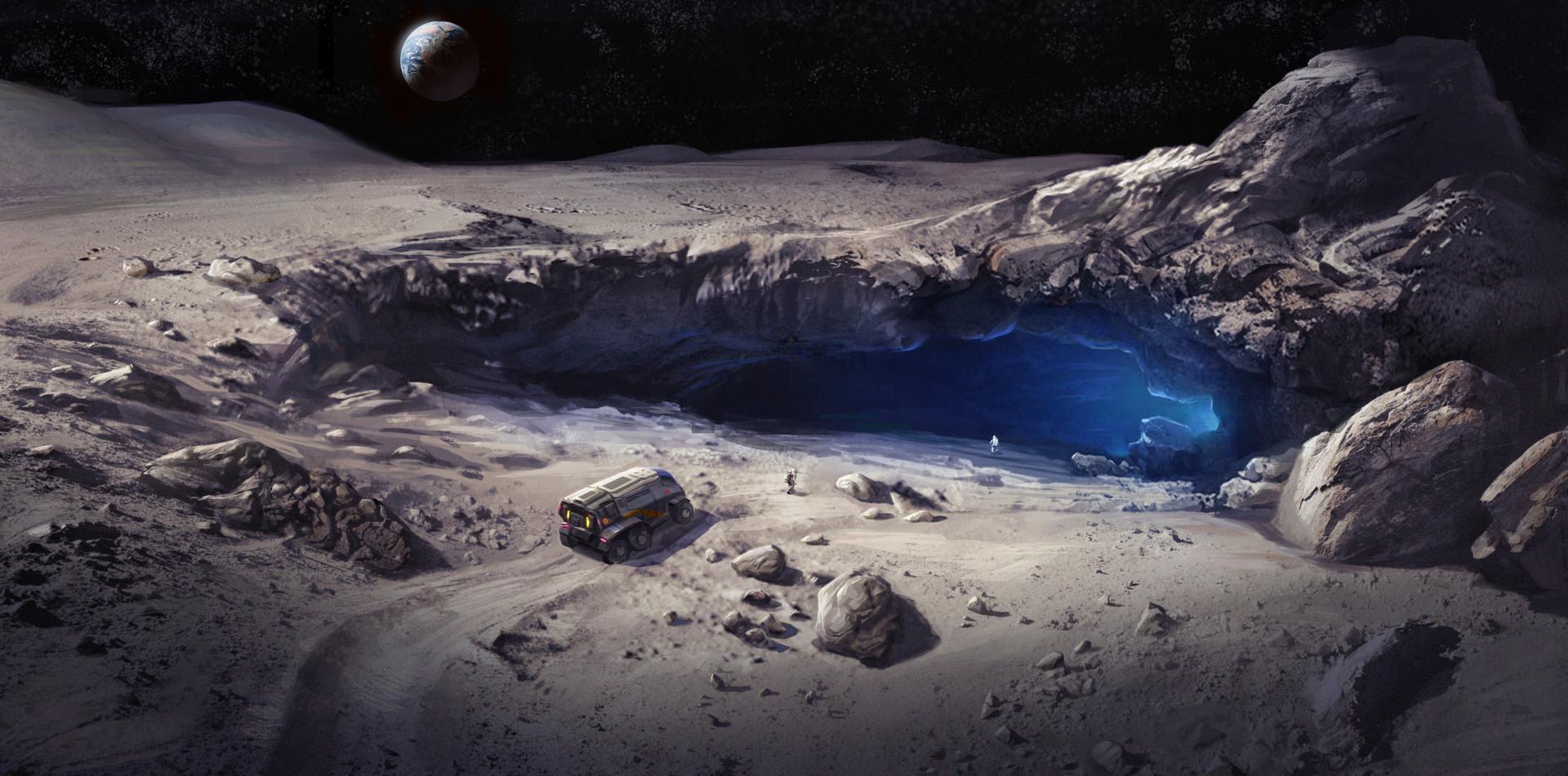 Cueva Descubierta en la Luna Desbloquea Nuevas Posibilidades