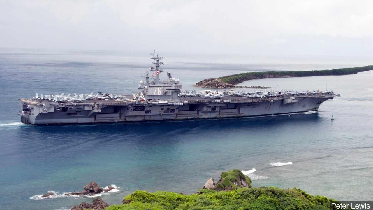 Avión Se Estrella en el Pacífico En Camino a USS Ronald Reagan