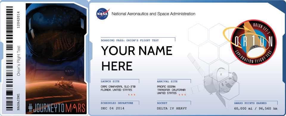 Último Día para Conseguir Su Pase de Abordaje a Marte