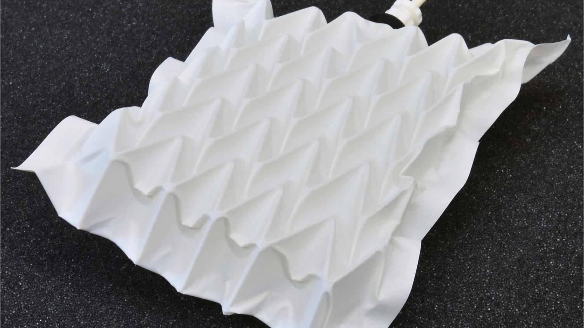Científicos Usaron el Origami como Inspiración para Construir un Músculo Artificial