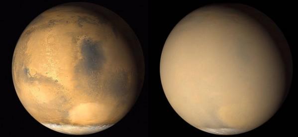 Tormentas de Polvo en Marte Vinculadas a la Pérdida de Atmósfera