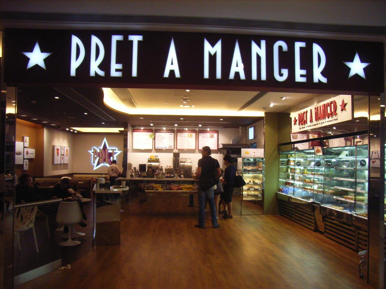 El personal de Pret a Manger recibe una bonificación de £1,000 en la adquisión de la empresa