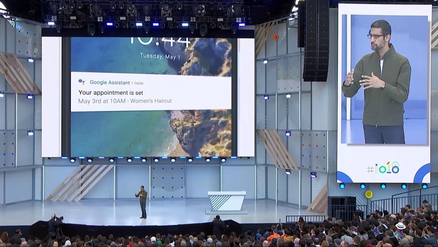 Sistema Google Duplex – La inteligencia artificial que reserva una mesa para ti y que suena como humano