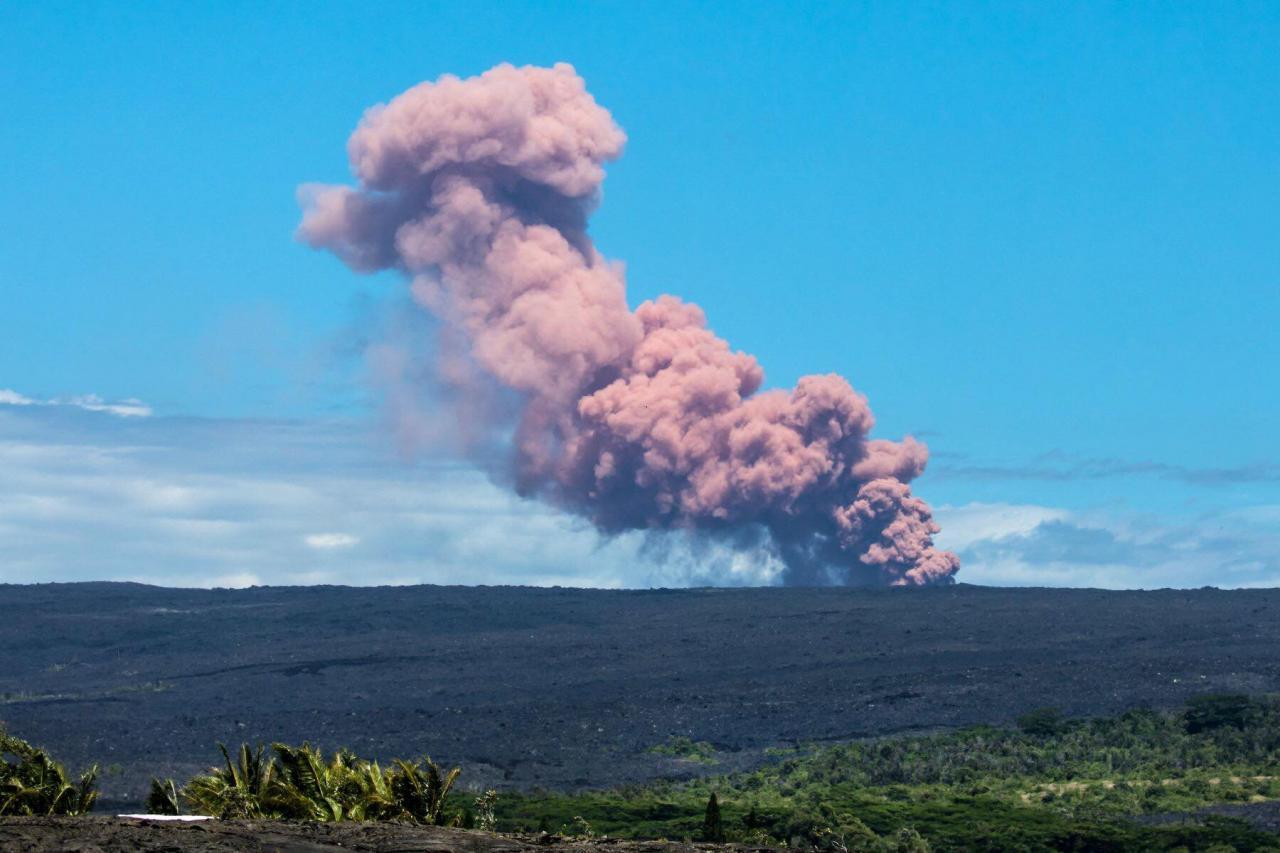 Erupción en Volcán Kilauea – Alerta de Evacuación Inmediata