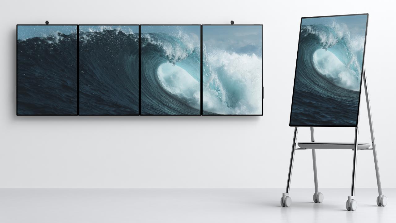 Surface Hub 2 de Microsoft podría hacer el trabajo de oficina más genial