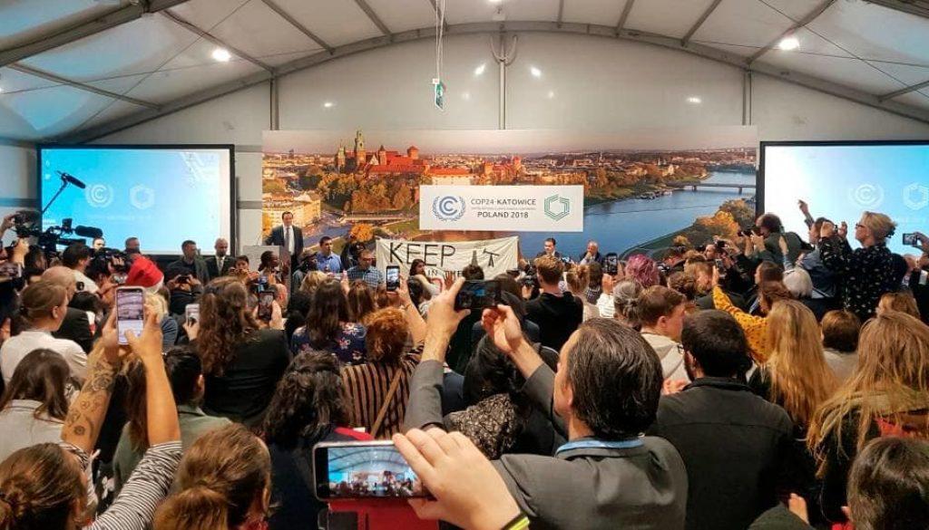 Estados Unidos promueve combustibles fósiles en una de las conferencias más grandes del mundo sobre el cambio climático