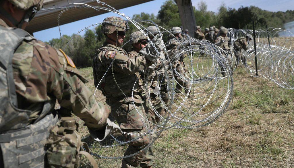 Veteranos Discapacitados de la Fuerza Área Quieren Reunir Dinero para el Muro Fronterizo Estados Unidos-México