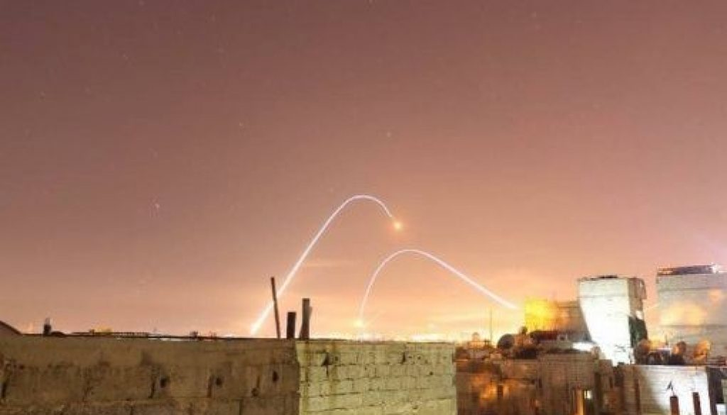 El ejército israelí golpea objetivos iraníes dentro de Siria