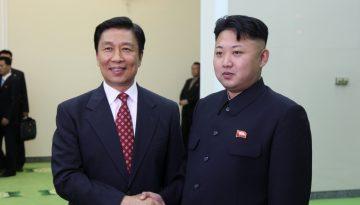 El líder de Corea del Norte, Kim Jong-un, visita al presidente de China