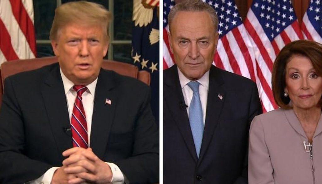 El presidente Donald Trump abandonó las conversaciones de cierre con los líderes demócratas