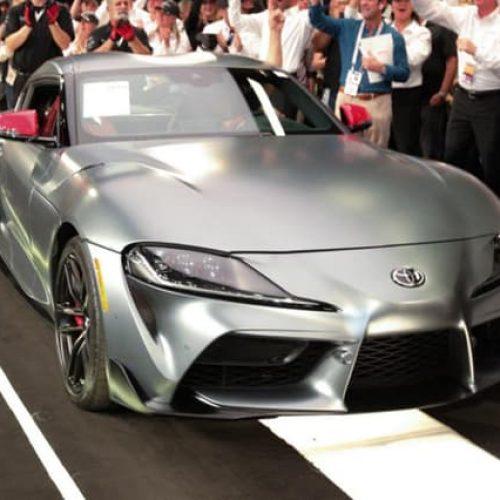 El primer Toyota Supra 2020 fue vendido por $2.1 millones y no en una opulenta exhibición de riqueza