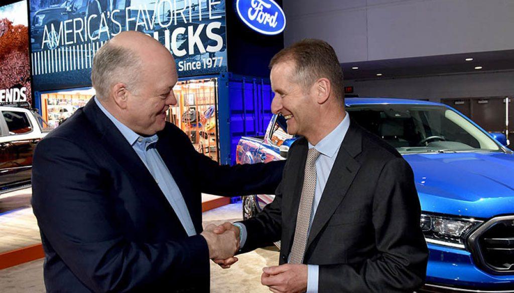 Volkswagen y Ford anunciarán una alianza automovilística potencial para crear los coches del futuro