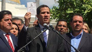 Juan Guaidó se declaró presidente interino de Venezuela y naciones comenzaron a tomar partido.