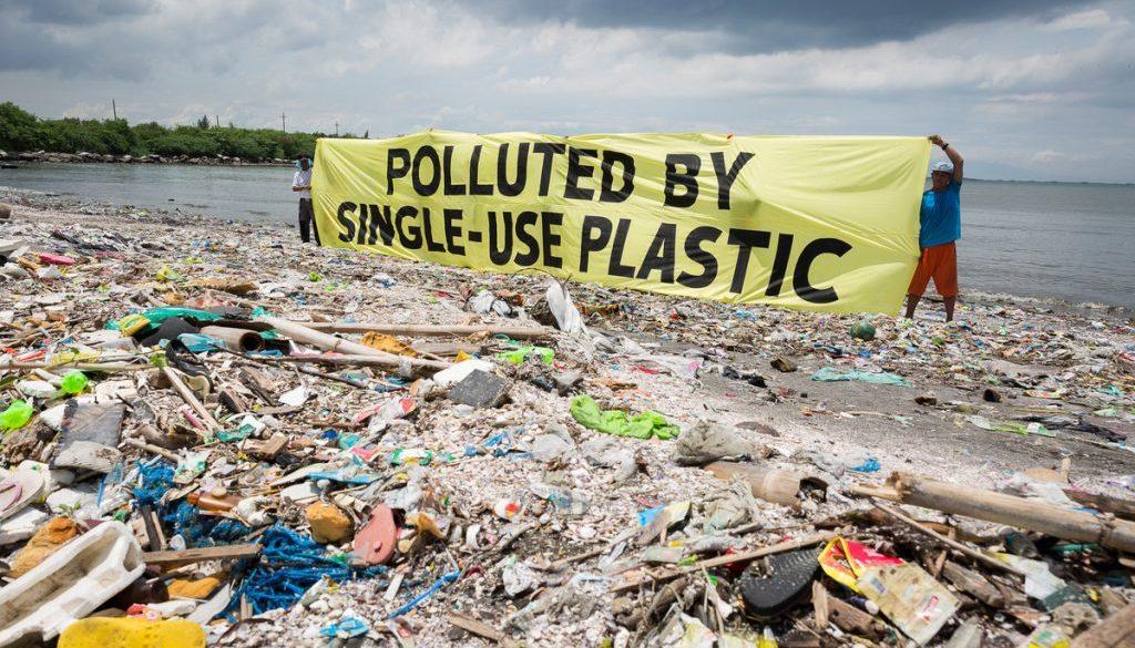 Se dice que la contaminación plástica se duplicará para 2030. La era de los plásticos de un solo uso debería terminar.