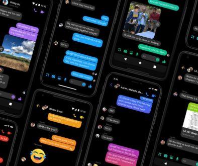 Messenger es la primera aplicación de Facebook en obtener modo oscuro