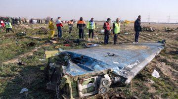 """Irán se compromete a """";castigar"""" a los responsables de derribar un avión ucraniano mientras se realizan arrestos"""